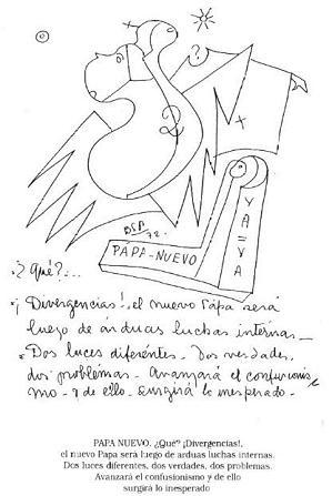 La Psicografía de Parravicini sobre el Papa Argentino