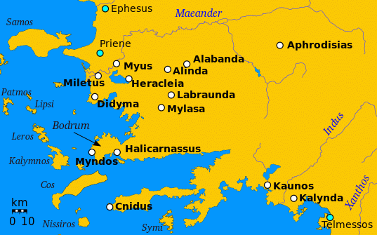mapofcaria