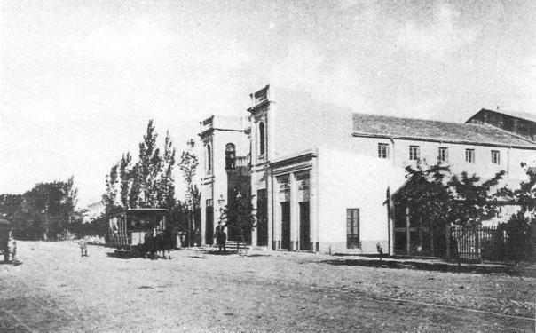Antiguo Teatro Edén, inaugurado en el año 1887