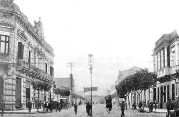 Av. General Paz y Deán Funes. Año 1900