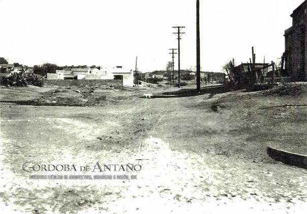 Blvd. San Juan en 1927 desde calle Bolívar