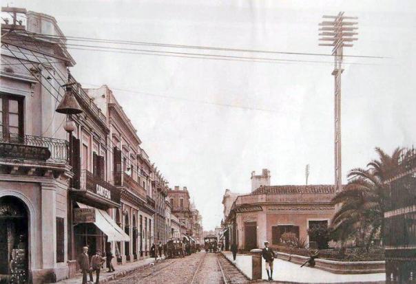Calle Rivadavia año 1900