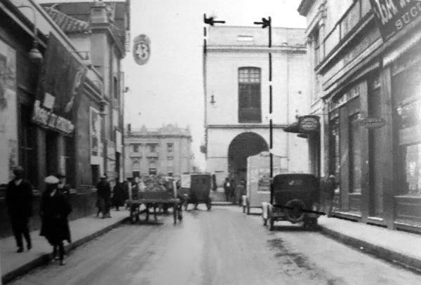 Calle San Martín Año 1927