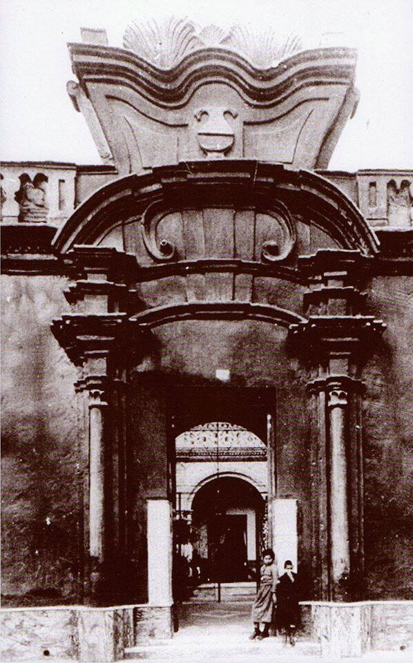 casa de los Allende comienzo 1920