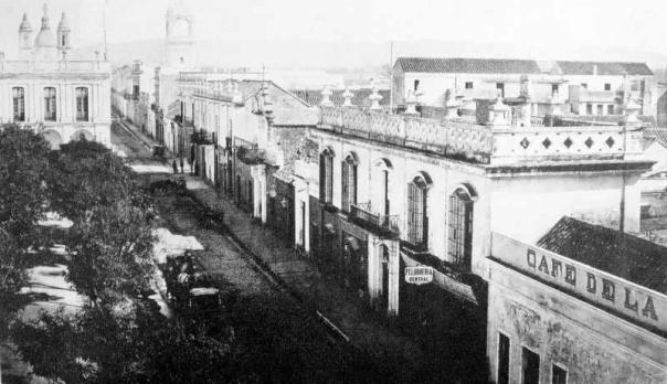 Constitución, actual Rosario de Santa Fe, en 1890