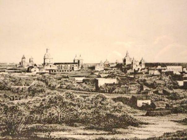 Daguerrotipo de la Ciudad de Córdoba, 1860