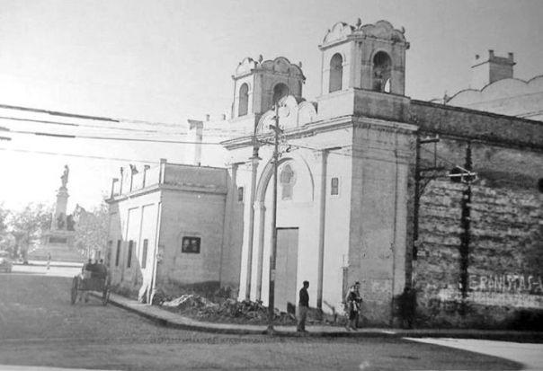 Iglesia del Niño Dios en el año 1948