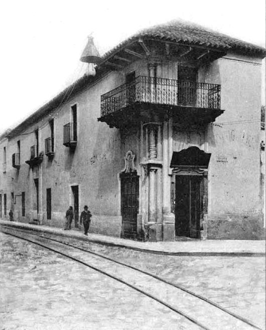 Ituzaingó y Rosario de Santa Fé, casa del Virrey Sobremonte Año 1902