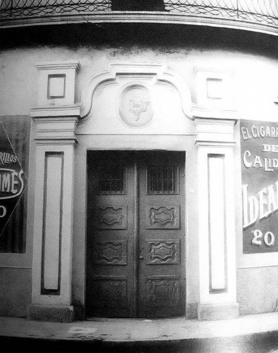La casa de la familia Bulnes, en calle 25 de mayo 1905