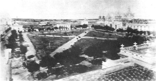 La Plaza Principal, hoy San Martin, a mediados de 1870