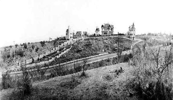 La subida al Cerro de las Rosas en 1935