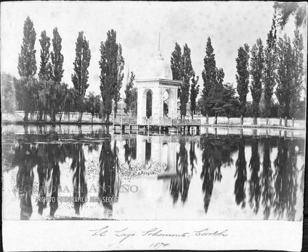Lago Sobre Monte en el año 1874