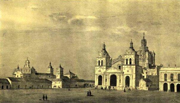 litografía de León Palliére, 1858
