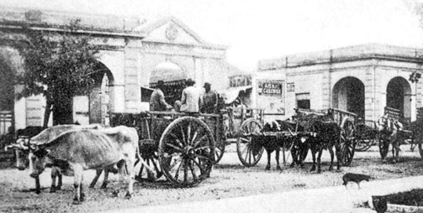 Mercado Norte. Foto de 1905