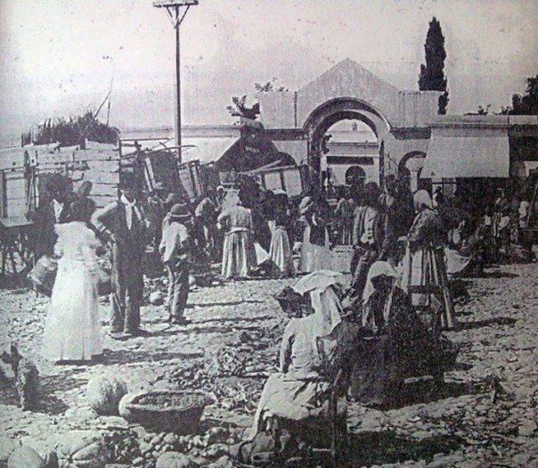 Mercado Sud, a principios del 1900