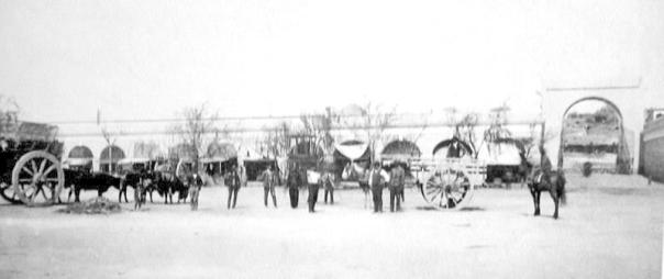 Mercado Sud. Foto del año 1888