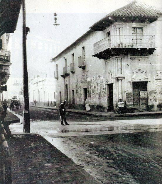 Museo histórico provincial Marques de Sobremonte, en 1910