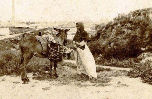 vendedora ambulante 1890