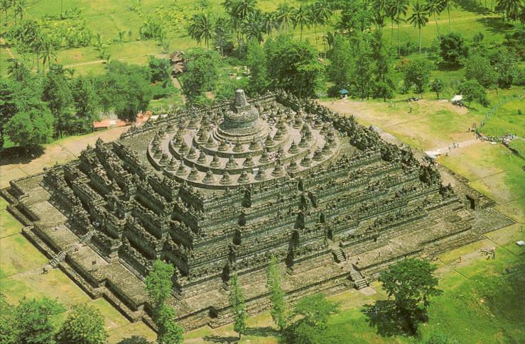 Resultado de imagen de Pirámides de Indonesia