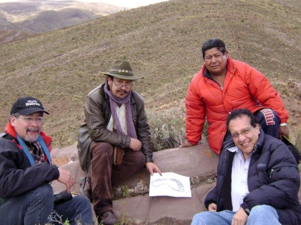 """footprintgroup - Investigadores de Bolivia Hallaron Cerca del Lago Titicaca lo que Consideran la """"Huella Humana"""" más Antigua del Mundo"""
