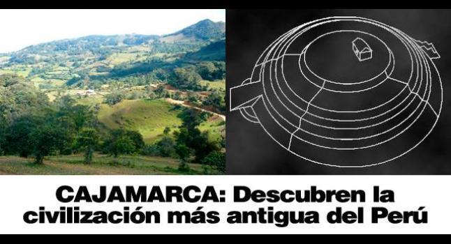 Resultado de imagen de Pirámide Circular de 5.500 años de antigüedad en Perú