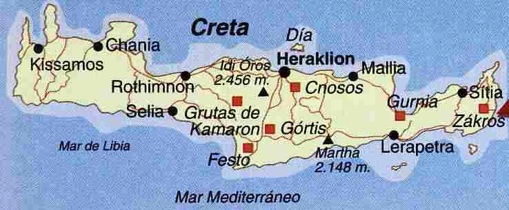 Resultado de imagen para Descubiertas en la isla de Creta primeros humanos