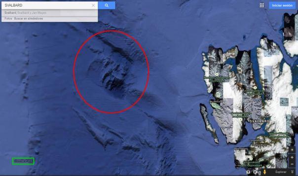 Misterios de Google Earth: Antiguas Ciudades Sumergidas, Rastros Gigantescos y más… 2
